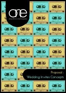 Haikel & Liyana Wedding Invites Concepts 1