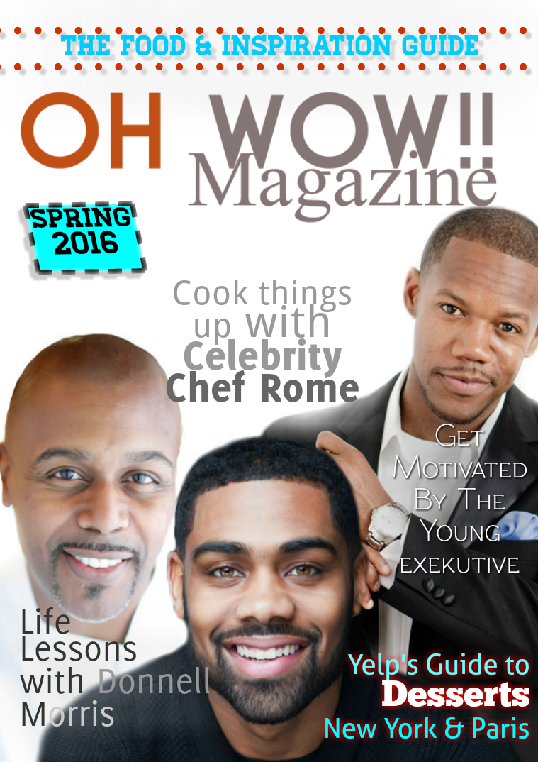 Oh Wow Magazine Foodie Guide 2016