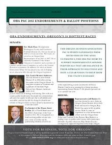 OBA PAC Endorsements