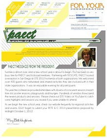 PAECT Fall Newsletter