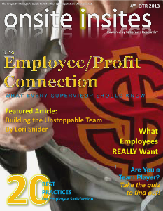 Onsite Insites by SatisFacts Research 2013 - 4th Quarter