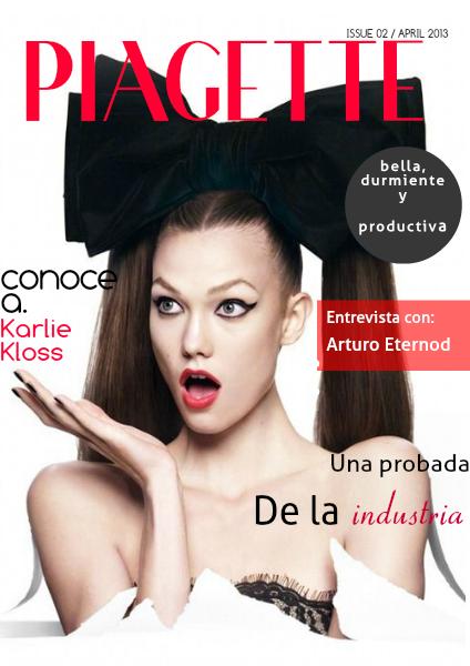 Piagette. Natalia Ramírez de alba jun. 2014