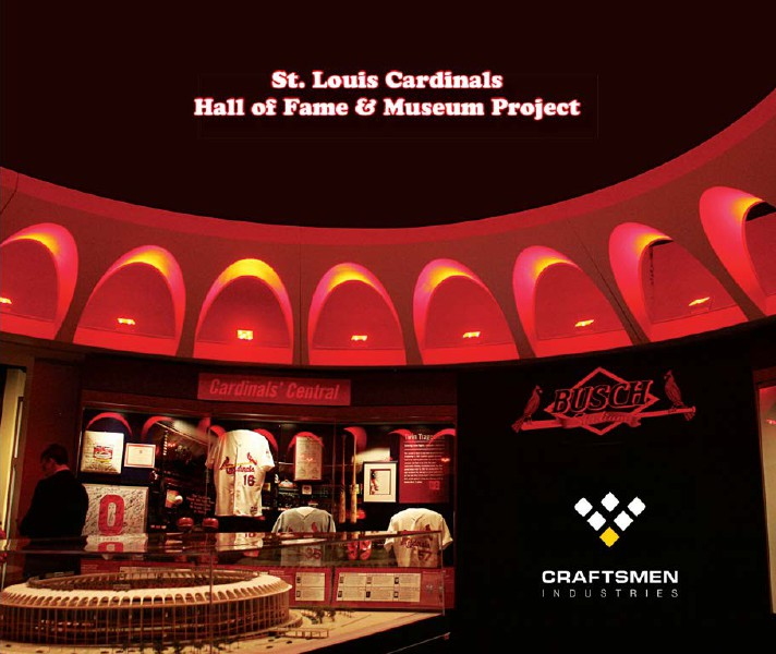St. Louis Cardinals Hall of Fame Museum Volume 1