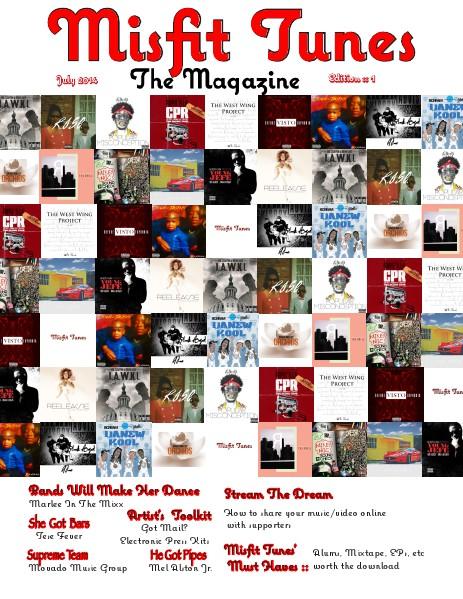 Misfit Tunes The Magazine Jul. 2014