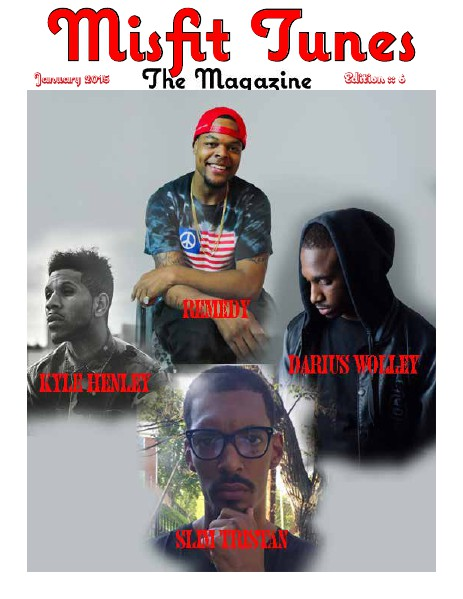 Misfit Tunes The Magazine January 2015
