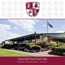 Churchill Park Golf Club Brochure
