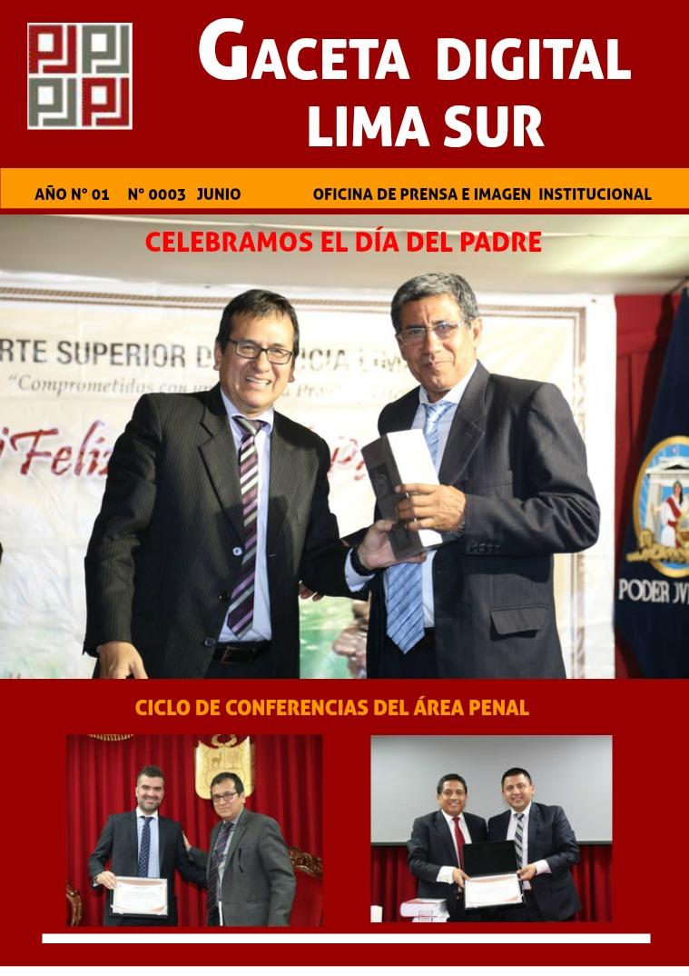 REVISTA DIGITAL LA GACETA - JUNIO