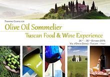 EVOO Sommelier Course in Val d' Orcia (Tuscany)
