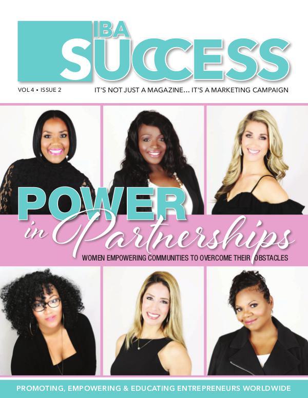IBA SUCCESS MAGAZINE Issue 2 Vol 4