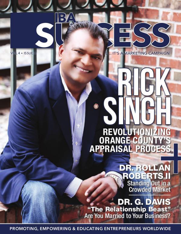 IBA SUCCESS MAGAZINE Issue 4 Volume 4