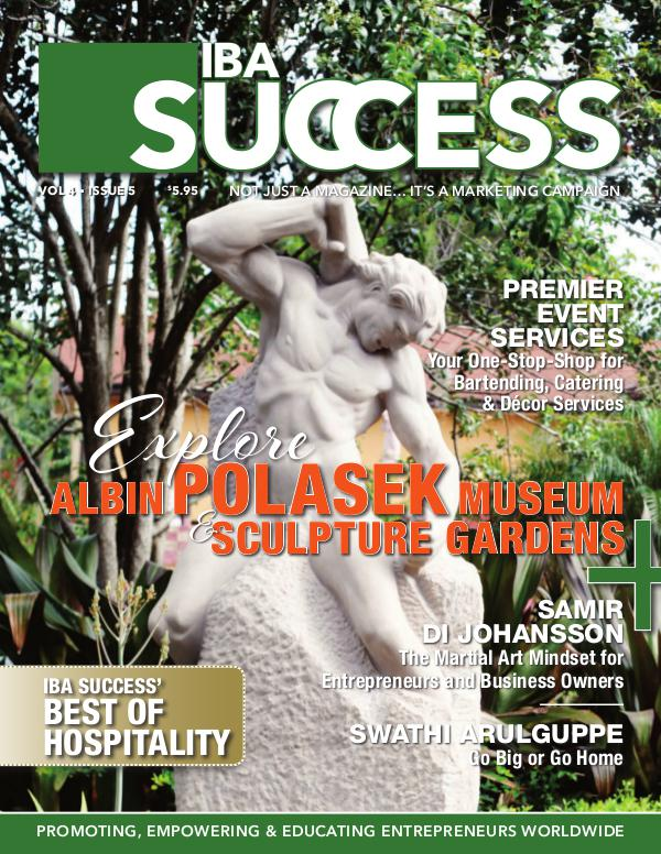 IBA SUCCESS MAGAZINE Issue 5 Volume 5