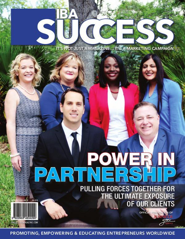 IBA SUCCESS MAGAZINE Issue 2 Volume 5