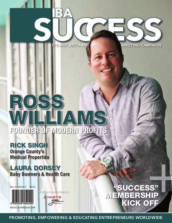 IBA SUCCESS MAGAZINE Volume 5 Issue 3