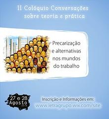 II Colóquio Conversações Sobre Teoria e Prática
