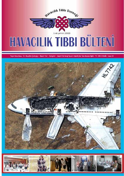 Havacılık Tıbbı Derneği - Bülten Sayı 23