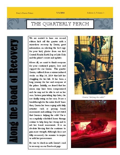 PPP Newsletter Edition 2 Volume 1.pdf Jul. 2014