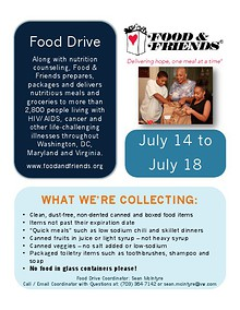 Food Drive & INROADS Posters