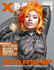 XMAG OCT 2012 - NICKI / OBAMA ISSUE