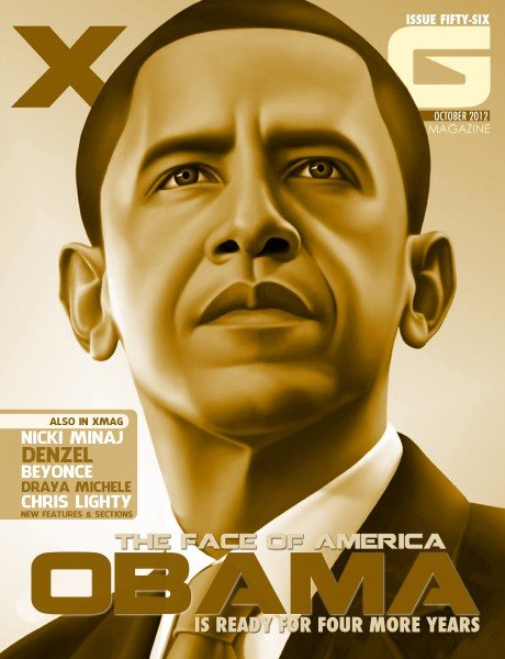 XMAG OCT 2012 - NICKI / OBAMA ISSUE BARACK OBAMA - ISSUE 56 - SIDE B