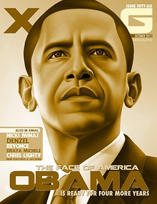 XMAG OCT 2012 - NICKI / OBAMA ISSUE