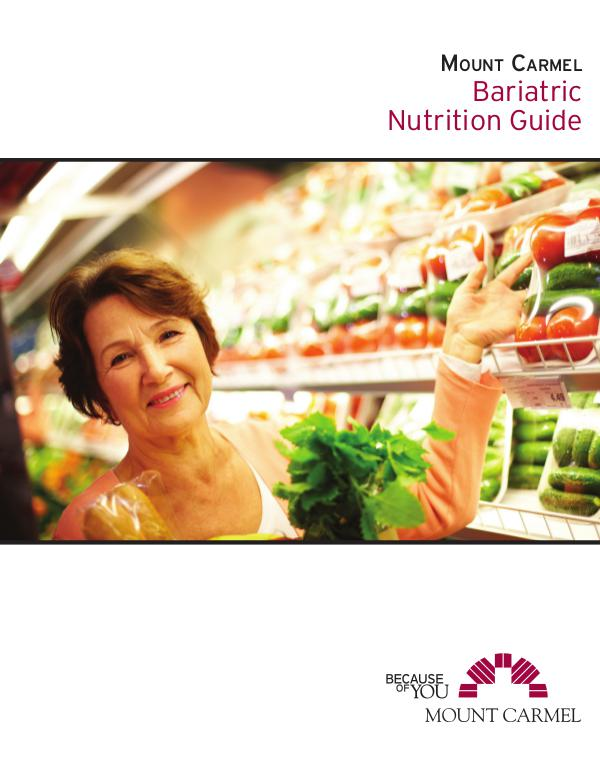 Bariatric Nutrition Guide