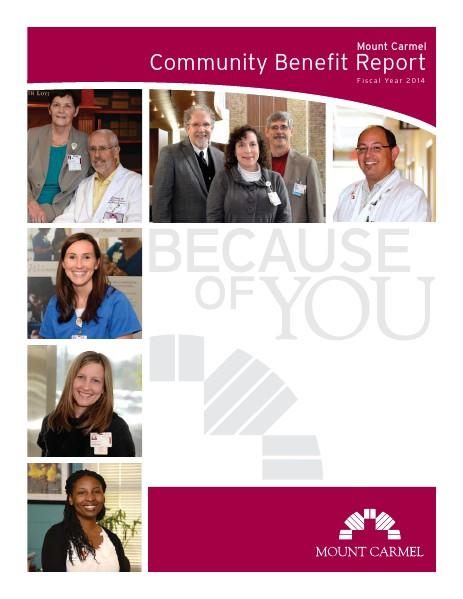 Mount Carmel Health System 2014 Community Benefit Report