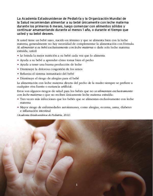 Guía de Lactancia