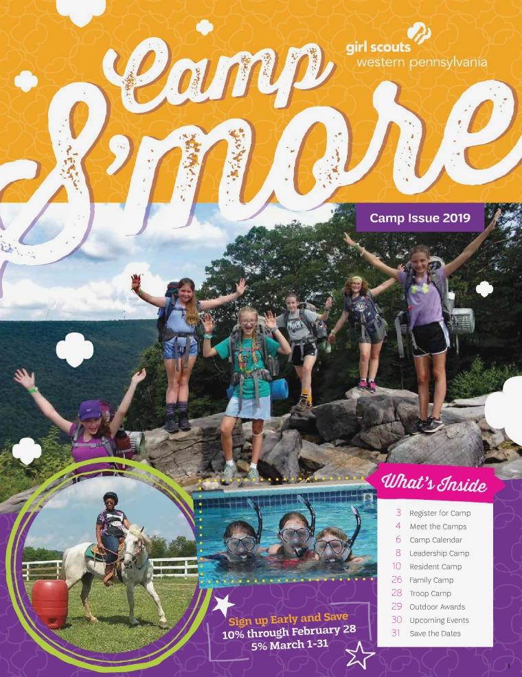 GSWPA S'more Camp 2019