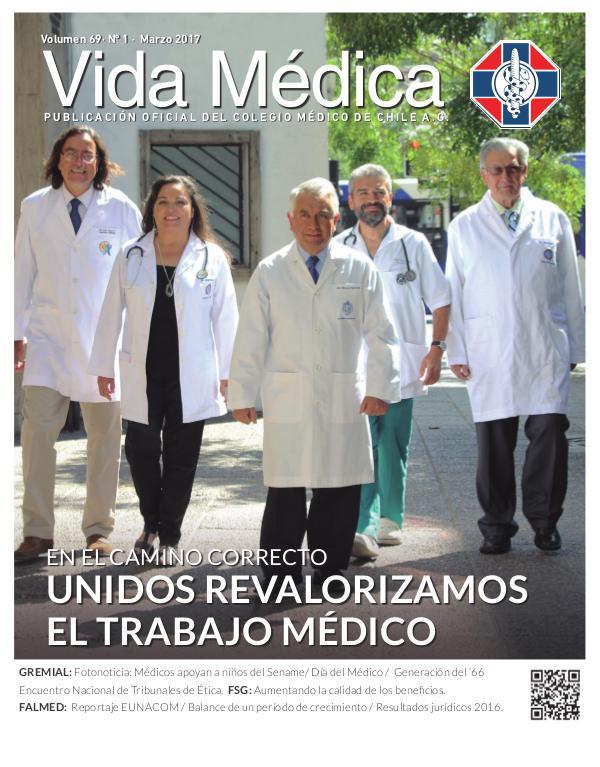 Vida Médica Volumen 69 Nº1 - 2017