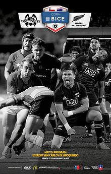 CONDORES VS MAORI ALL BLACKS