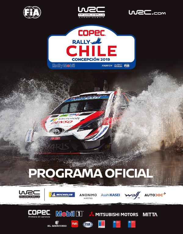 WRC PROGRAMA OFICIAL COPEC RALLY WRC CHILE 2019