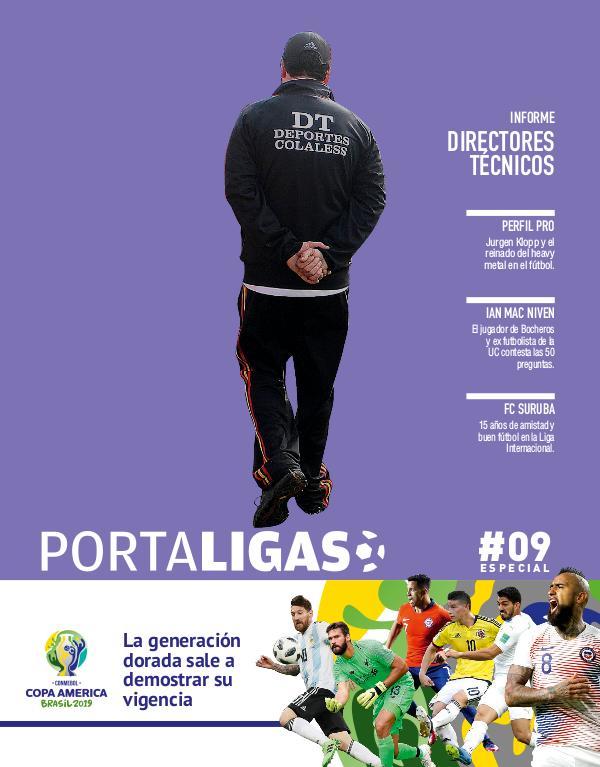 Portaligas #09 - Otoño 2019 - Especial Copa América 2019