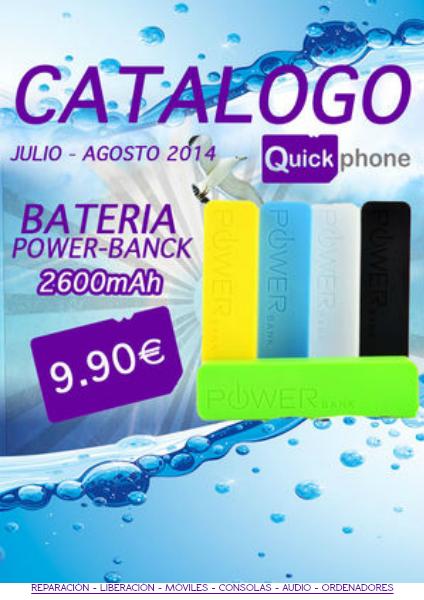 Catalogo Quickphone Julio - Agosto