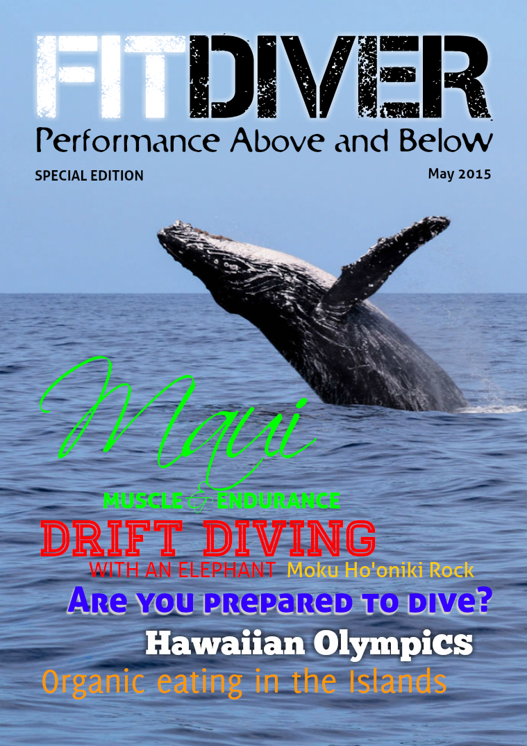 FitDiver® SPECIAL EDITION May 2015