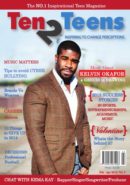 TEN2TEENS MAGAZINE VOL 2
