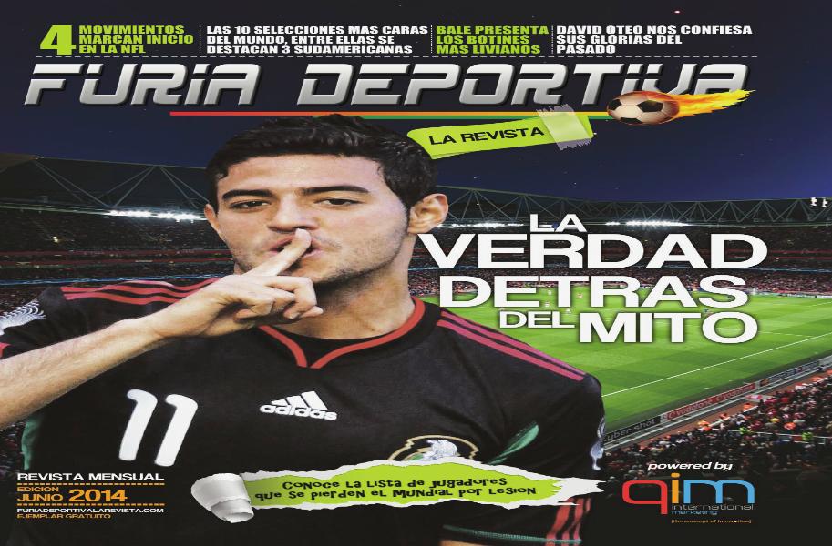 Furia Deportiva La Revista Jul. 2014
