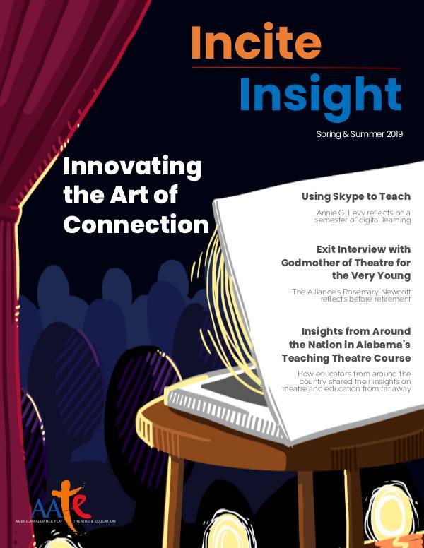 Incite/Insight Spring-Summer 2019 Incite_Insight—Spring_Summer 2019 Final