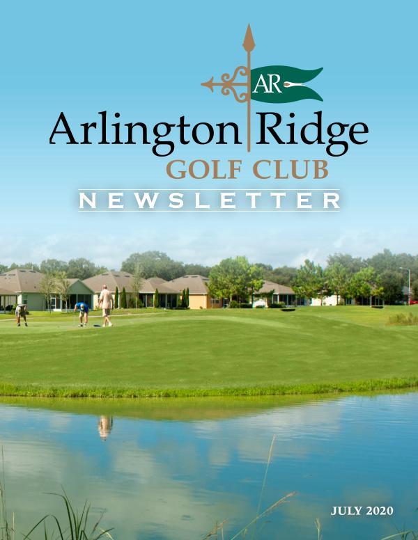 Arlington Ridge Newsletter July 20