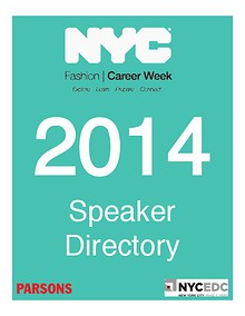 NYC Fashion Career Week 2014