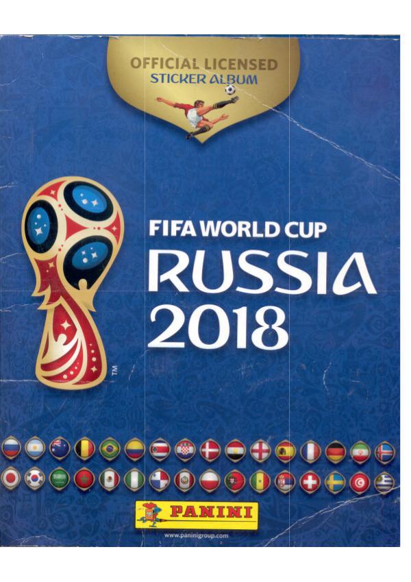 Mundial Futbol FIFA 2018 Russia