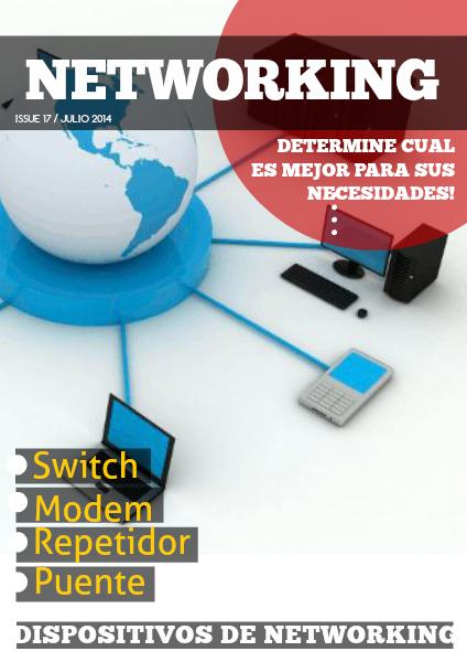 Dispositivos de networking 17 de Julio del 2014