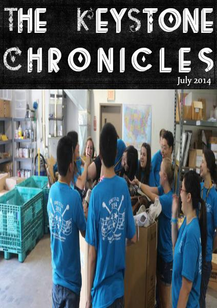The Keystone Chronicles July 2014