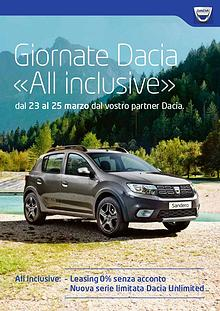 Giornate Dacia «All inclusive»