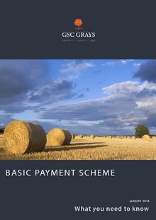 Basic Payment Scheme Update August 2014