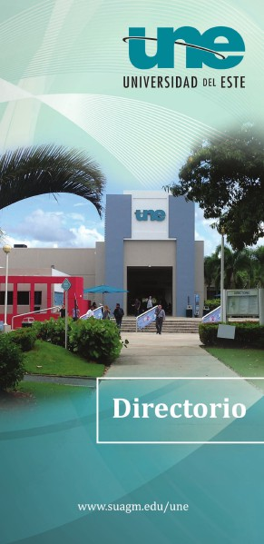 Directorio Universidad del Este Julio 2014