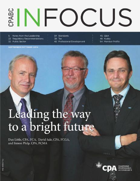 CPABC in Focus September/October 2014