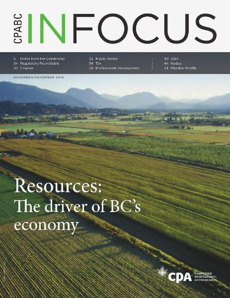 CPABC in Focus November/December 2014