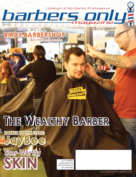 Barbers Only Magazine Fall 2011