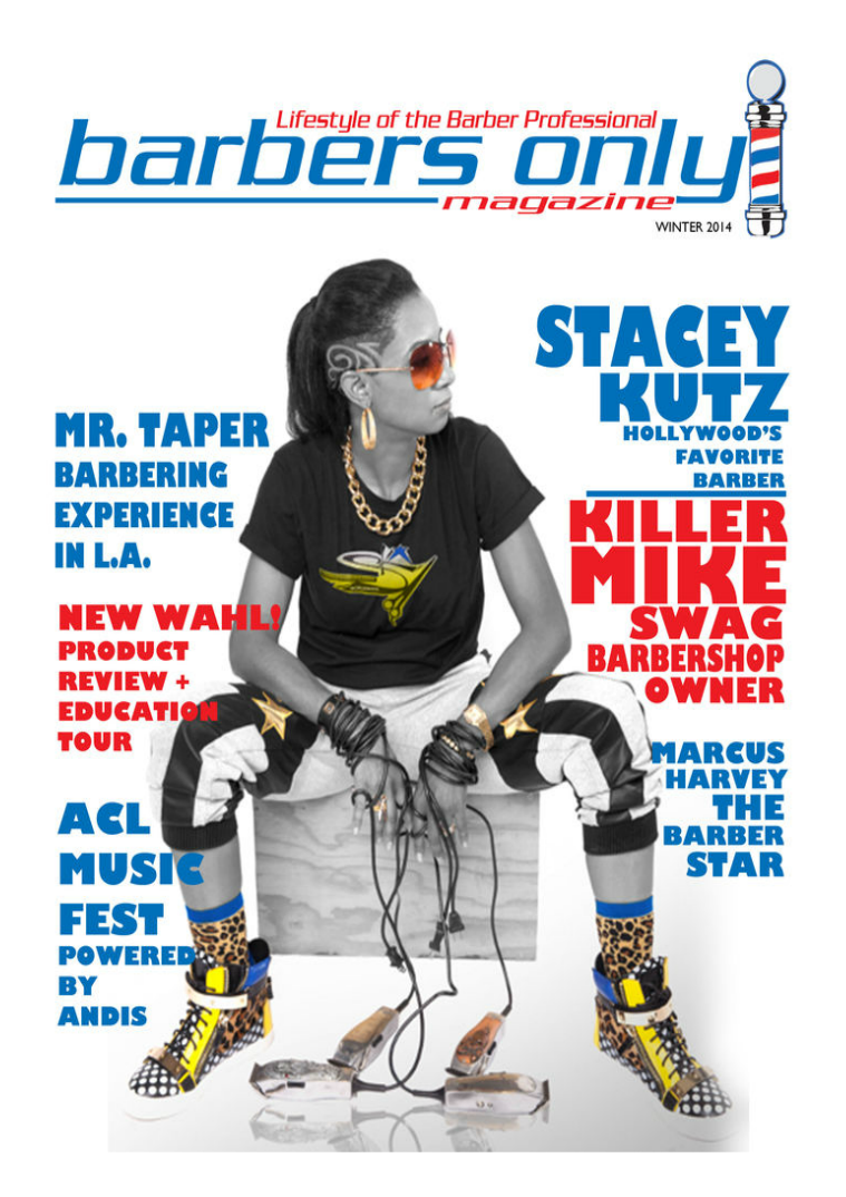 Barbers Only Magazine 2015