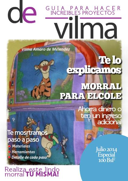 Patrones Vilma Amaro Julio 2014 Vol 1
